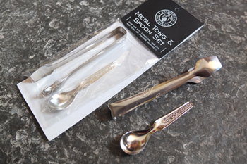 Tong and Spoon Set